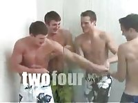 Hot College Collective Wanking