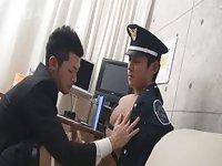 Japanese police & Office Men