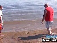 Gay bears Buzz Steele & Stefan Dupuis on vacation