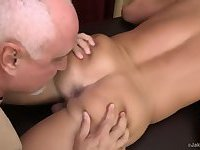 Mature Masseur Rimming Ass