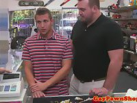 Real pawn broker takes straight hunk to back