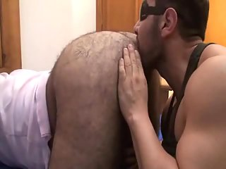 Naughty Guy Licking Out Hairy Ass