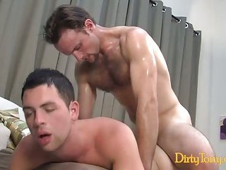 Aroused Fellows Try Anal