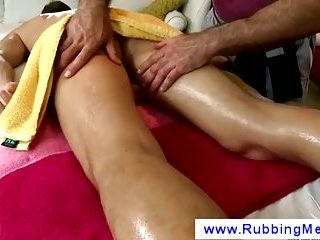 Ass massage with the fingers