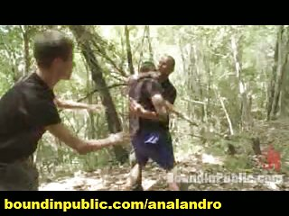 Public Gangbang and Humiliation in a Forest Camp