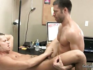 Shane Frost and Tristan fucking and cumming