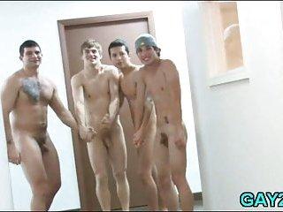 Randy College Gays Having Sex