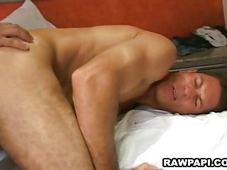Papi gays cock sucking and anal fucking