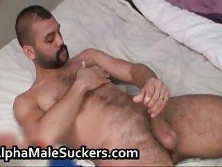 Sexy gay hardcore jerking off