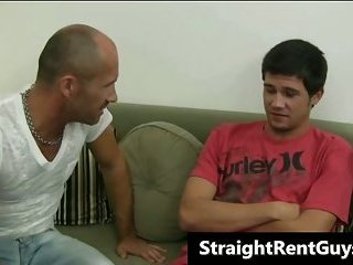 Super hot hetero guys doing gay sex