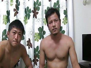 Asian Gay Couple Make Love