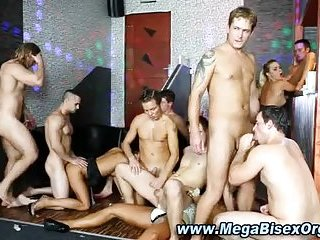 Bisexual Toy Orgy