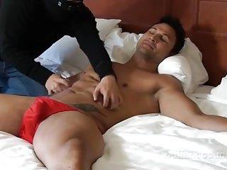 Hunky Guy Gets Teased