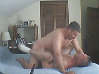 Filthy Amateurs Fucking On A Bed