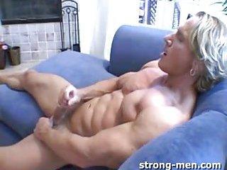 Lustful Gay Guy Beating Off