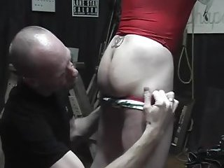 Submissive Guy Gets Ass Stuffed