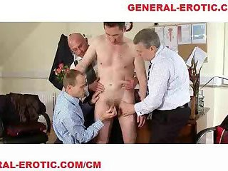Dominated gay ass fingered 2