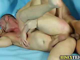 Bisex gay facialized