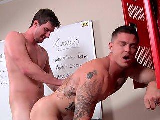 Sebastian Young & Bryan Cavallo Doggy Style